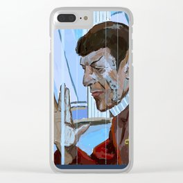The Wrath of Khan Clear iPhone Case