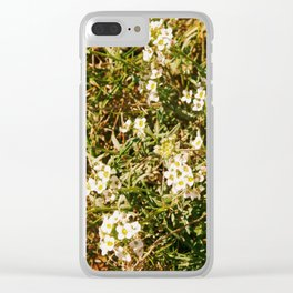 Spring flowers Clear iPhone Case
