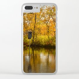 Nesting Box Clear iPhone Case