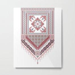 Palestinian tatreez Metal Print