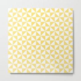 Geometric Pinwheel Pattern 432 Metal Print