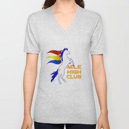 Mile High Club Unisex V-Neck