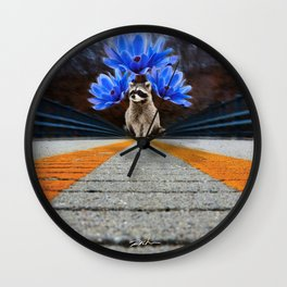Passionate from miles away Wall Clock