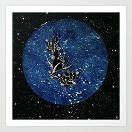 Aquarius Constellation Art Print