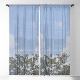 Sheer Skies Sheer Curtain