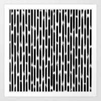 Day 010 | #margotsdailypattern Art Print
