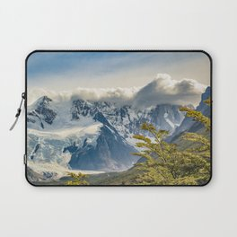 Snowy Andes Mountains, El Chalten Argentina Laptop Sleeve
