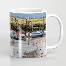Boats at Morston Quay Coffee Mug