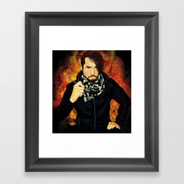 The 21st century Punk Rock Expressionist Framed Art Print