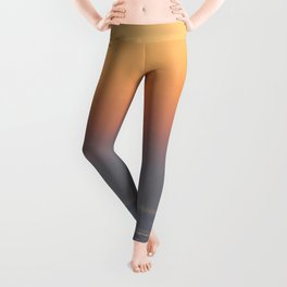 sunset by the sea Leggings