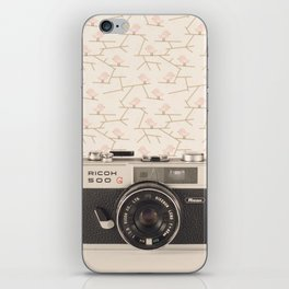 Film Camera (Retro and Vintage Still Life Photography)  iPhone Skin