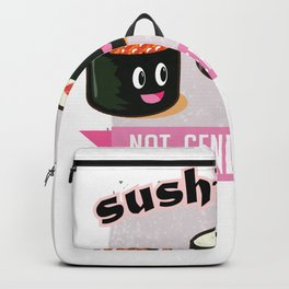 Funny Sushi Gender Roles Feminism Equality Women Rights Design Backpack