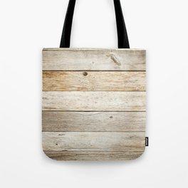 Rustic Barn Board Wood Plank Texture Tote Bag