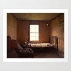 Ghost Bedroom Art Print