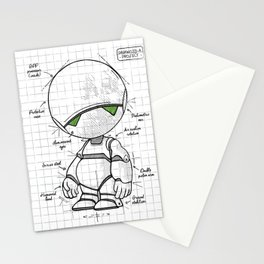 Marvin Plan Stationery Cards
