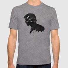 The Odds – Han Solo Silhouette Quote Mens Fitted Tee LARGE Tri-Grey