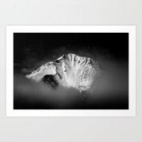 Black Mountain One Art Print