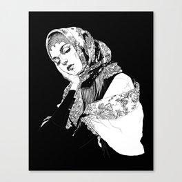 Lady Russia. Yury Fadeev© Canvas Print