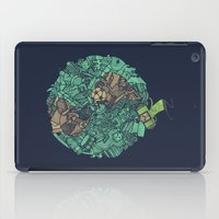 atlas iPad Cases featuring Prince Atlas by Hector Mansilla