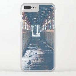Camp Bridge Tumater Clear iPhone Case