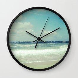 BEACH IN HARMONY I Wall Clock