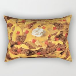 Nacho Time Rectangular Pillow