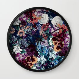 EXOTIC GARDEN - NIGHT XVI Wall Clock
