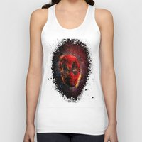 pool Tank Tops featuring Dead Pool by Andrew Treherne