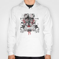zombie Hoodies featuring Zombie by DaeSyne Artworks