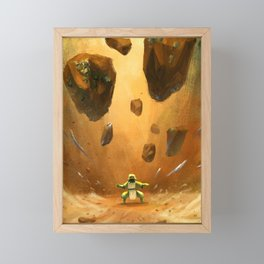 Earthbender Framed Mini Art Print
