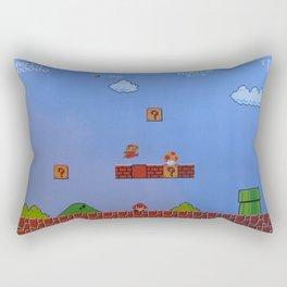 Mario Likes A Mushroom Rectangular Pillow