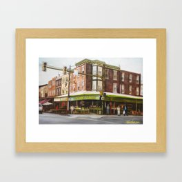 Italian Market Philadelphia Framed Art Print