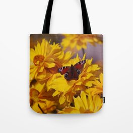 ButterFlower Tote Bag