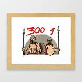 Fitness warriors Framed Art Print