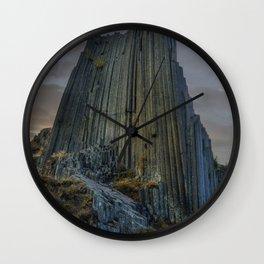 Panska Skala at sunrise Wall Clock
