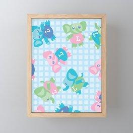 Lolailo 13 Kids Framed Mini Art Print