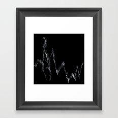 LINGERING FEVER Framed Art Print