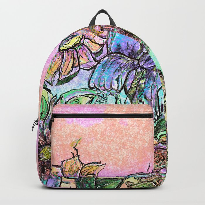 Nature Flowers Backpack