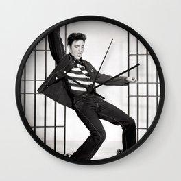 ELVIS PRESLEY - JAILHOUSE ROCK Wall Clock