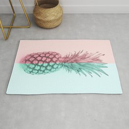 Double Pineapple Rug