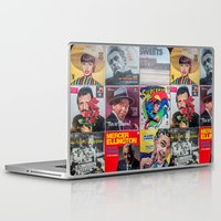 zappa Laptop & iPad Skins featuring Old Records by Sonship Design