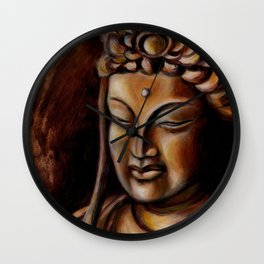 Face of Mercy No. Two Wall Clock