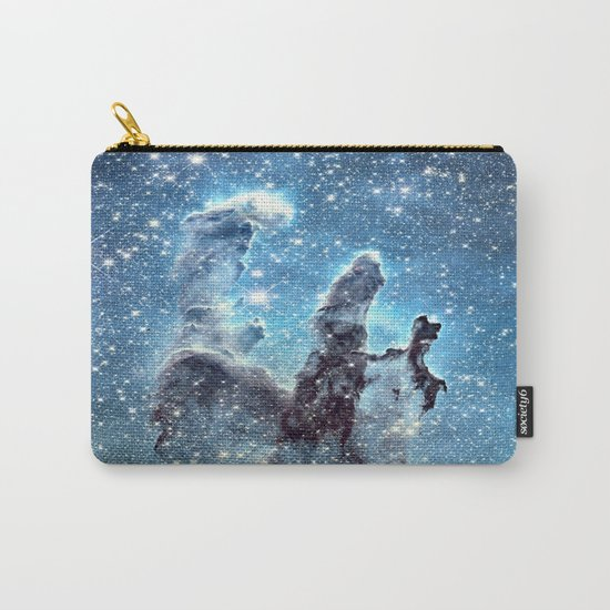 Pillars of Creation Blue Carry-All Pouch