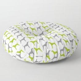 Plott Hound Pattern Floor Pillow