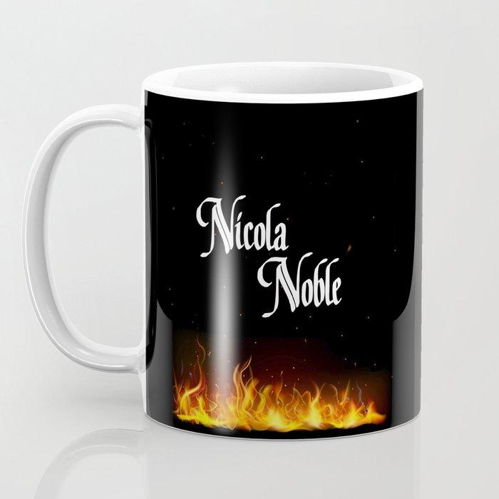 Nicola Noble - Flame Coffee Mug