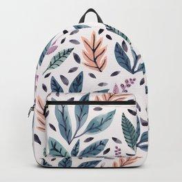 Painted Leaves Backpack