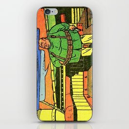 fat man spy  iPhone Skin