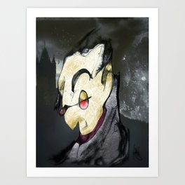 Moonlight Becomes Me Art Print