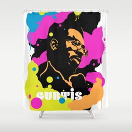 Soul Activism :: Curtis Mayfield Shower Curtain