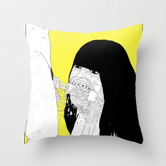 GOOD GIRLS VS RUDE GIRLS Throw Pillow